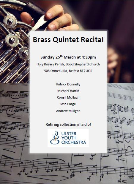 Brass Quintet Recital