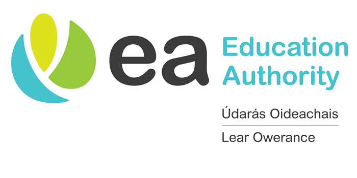 Education Authority Logo with Translations