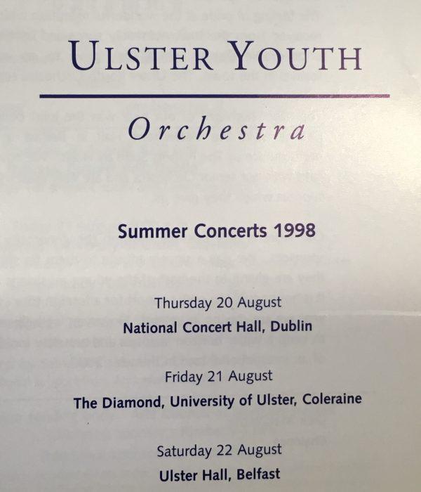 1998 programme