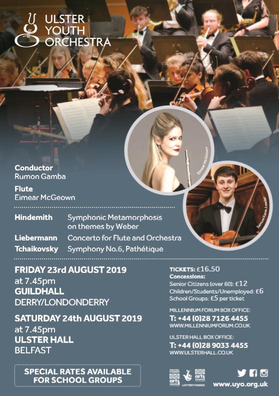 Concert Flyer schools