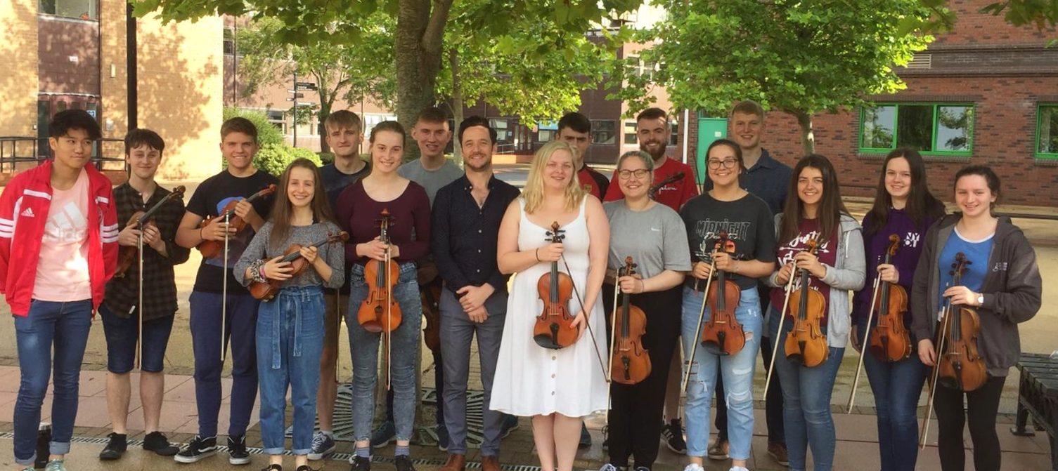 First Violins 2019